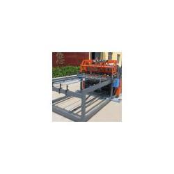 基坑钢筋网焊接机械 地铁钢筋网生产线黑丝网片排焊机生产设备