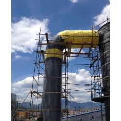 高温设备管道不锈钢保温施工队化工反应釜岩棉板保温承包