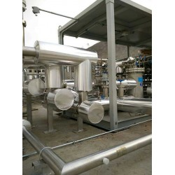 河北不锈钢高温炉体保温施工队白铁管道保温防腐公司