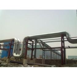 玻璃棉板脱硫塔白铁保温施工队脱硫管道岩棉彩钢保温工程