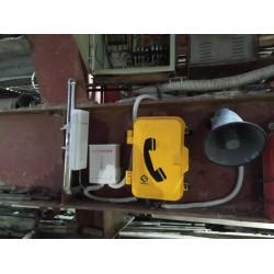 户外嵌入式电话机 管廊光纤电话机 防水调度电话机