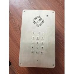 传递窗一对一对讲 来电显示洁净室专用电话机