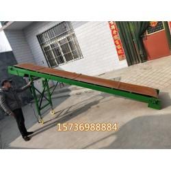 可移动爬坡输送机    移动式轻型粮食装车运输机