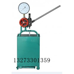 淮南厂家销售单缸双缸手动试压泵,电动试压泵产品