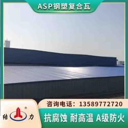 asp耐腐铁瓦 山东海阳钢塑防腐瓦 钢结构屋顶瓦隔音降噪